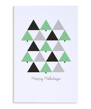 """Happy Holidays"" Holiday Postcards"