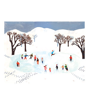 Ice Skating by Small Adventure card