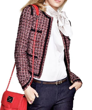 MNG by Mango Coco Tweed Jacket