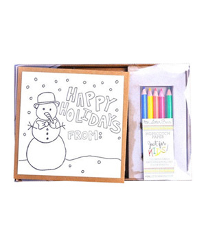 Holiday: Snowman's Greeting