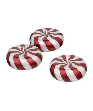 Peppermint Floating Candles
