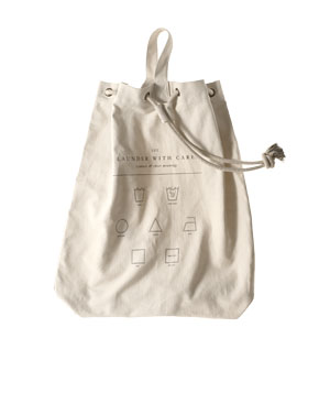 Izola by Aesthetic Movement canvas laundry bag