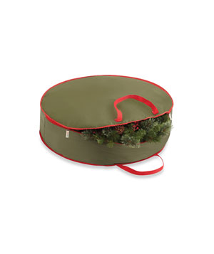 Real Simple Holiday Wreath Storage Bag