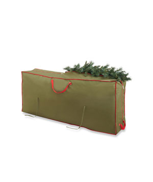Real Simple Holiday Deluxe Tree Storage Bag with Wheels