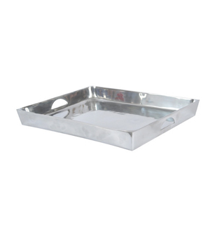 Polished Aluminum Tray