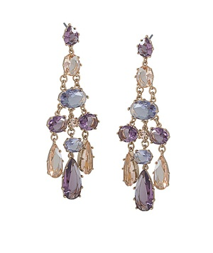 Carolee Stone Drop Earrings