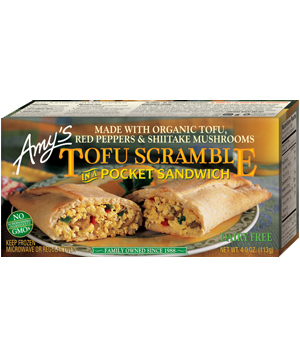 Amys Tofu Scramble Pocket