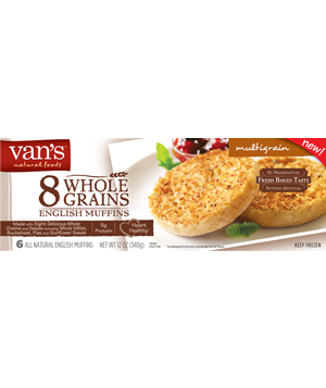 Vans English Muffins Multigrain