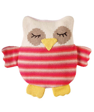 Knitted Owl Hottie
