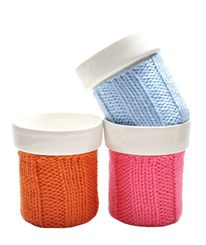 Knit Color Cozy Mug