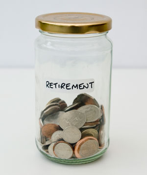 A retirement jar