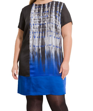 Kenneth Cole New York Colorblock Shift Dress