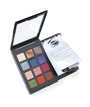 Sonia Kashuk's Instructional Eye Shadow Palette