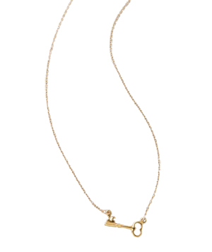 Gorjana Key Necklace