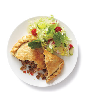 Turkey Empanadas With Salad