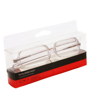 Transparent Reading Glasses