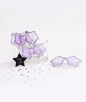 Star shaped glasses