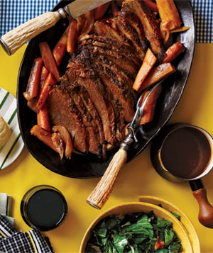 Braised Brisket and Vegetables
