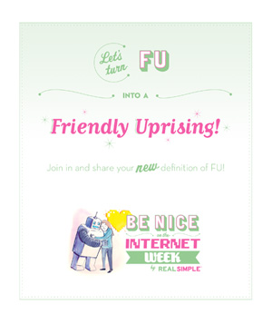 Be Nice on the Internet E-Cards