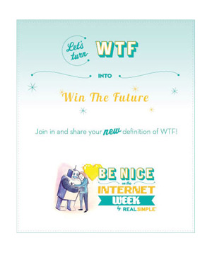 Let's turn WTF into Win the Future
