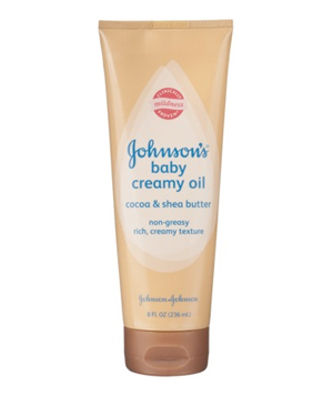 Johnson's Baby Creamy Oil