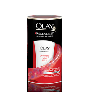 Olay Regenerist UV Defense Regenerating Lotion With SPF 15