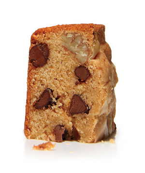 Blondies With Chocolate Chips and Pecans