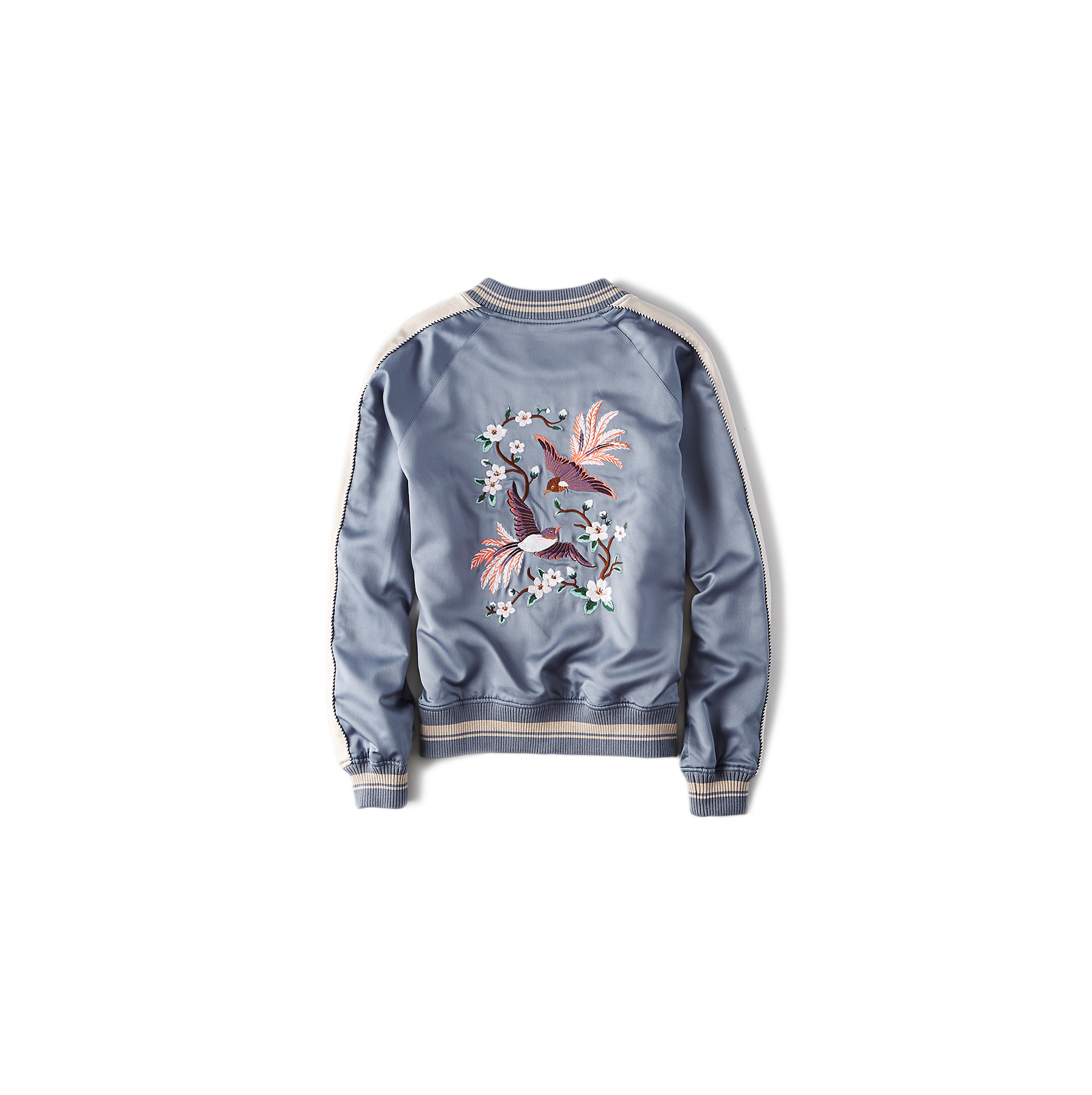 AEO Embroidered Bomber Jacket