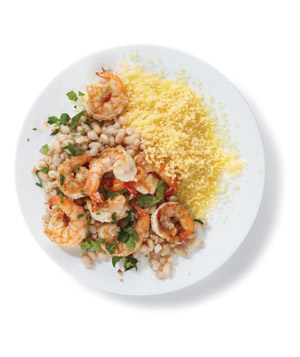 Spiced Shrimp Recipe With Beans