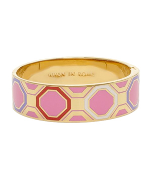 Kate Spade When in Rome Idiom Bangle