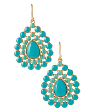 Stella & Dot Charlize Teardrop Earrings