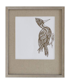 PATCH NYC Framed Wall Art, Woodpecker