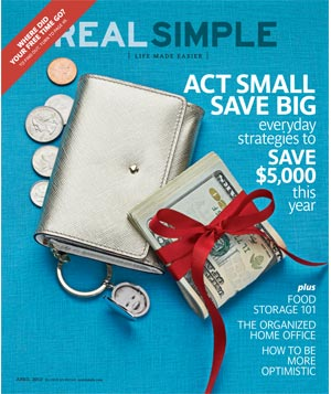 Real Simple April 2012