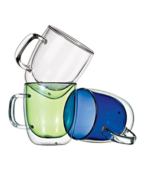 Canvas Home Glass Mugs