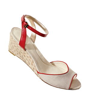 Lands' End Linen Wedges
