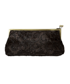 Zara Lace Clasp Frame Wallet
