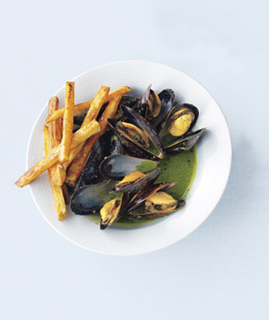 Mussels With Pesto