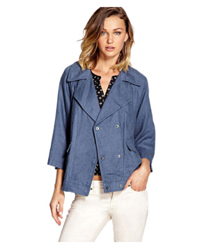 Forever 21 Sleek Linen Jacket