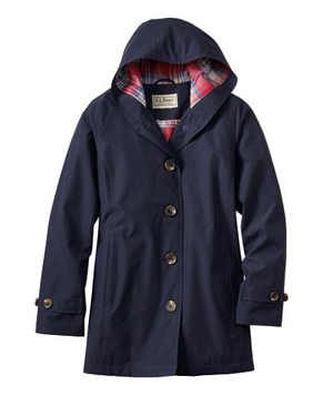 L. L. Bean Easy-Care Mackintosh Coat
