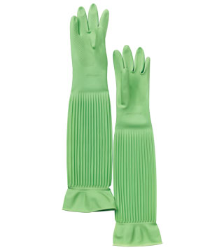 Home Trends Arm Length cleaning gloves