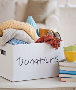 Make Closet-Cleaning Charitable
