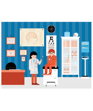 Illustration of Doctor's Office