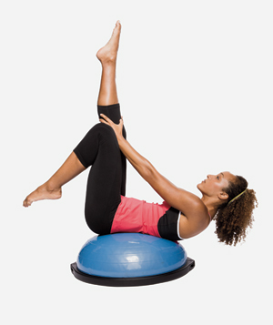 6 Quick BOSU-Ball Exercises