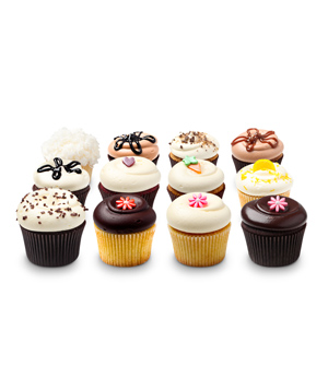 Georgetown Cupcake Assorted Dozen