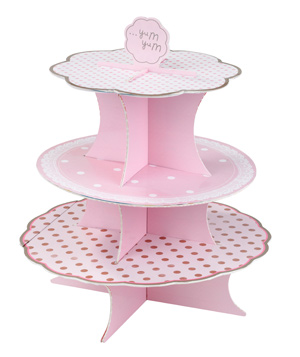 Shop Sweet Lulu Pretty Pink Cupcake Stand