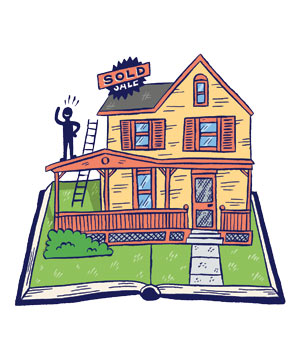Illustration of Sold House