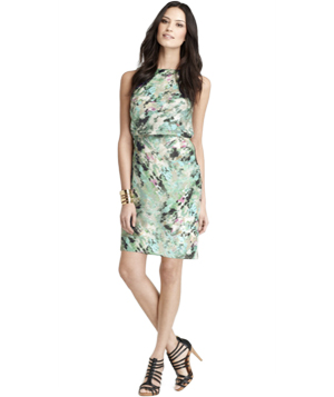 Ann Taylor Serene Floral Print Sheath Dress
