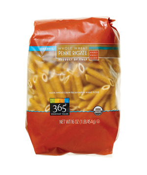 365 Everyday Value Organic Whole Wheat Penne Rigate