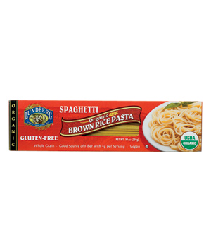 Lundberg Family Farms Organic Brown Rice Spaghetti Pasta