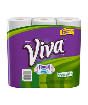 Viva Brand Choose-a-Size paper towels